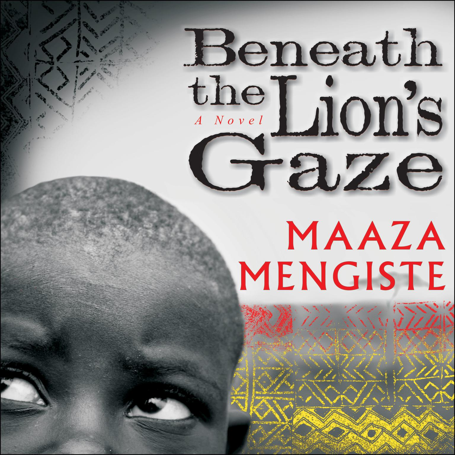 Printable Beneath the Lion's Gaze: A Novel Audiobook Cover Art