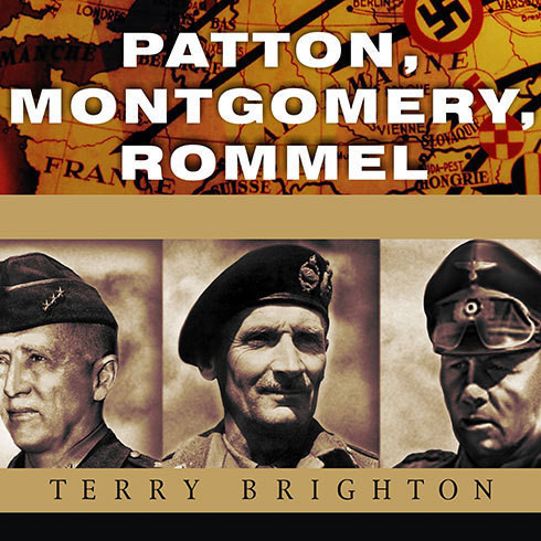 Printable Patton, Montgomery, Rommel: Masters of War Audiobook Cover Art