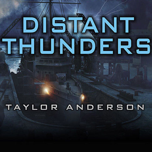 Printable Destroyermen: Distant Thunders Audiobook Cover Art