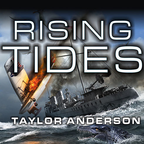 Printable Destroyermen: Rising Tides Audiobook Cover Art
