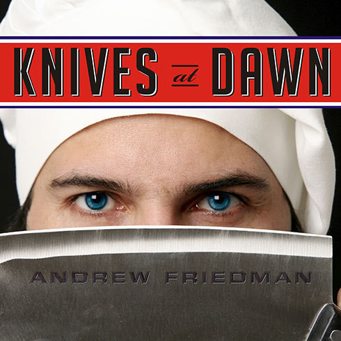 Printable Knives at Dawn: America's Quest for Culinary Glory at the Legendary Bocuse d'Or Competition Audiobook Cover Art