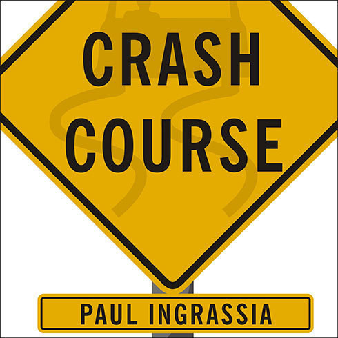Printable Crash Course: The American Automobile Industry's Road from Glory to Disaster Audiobook Cover Art