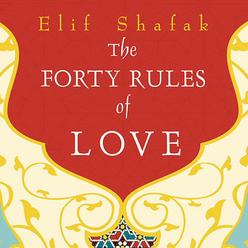Printable The Forty Rules of Love: A Novel of Rumi Audiobook Cover Art