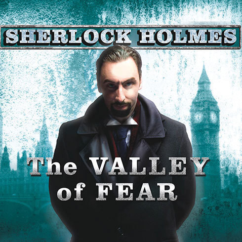 Printable The Valley of Fear: A Sherlock Holmes Novel Audiobook Cover Art