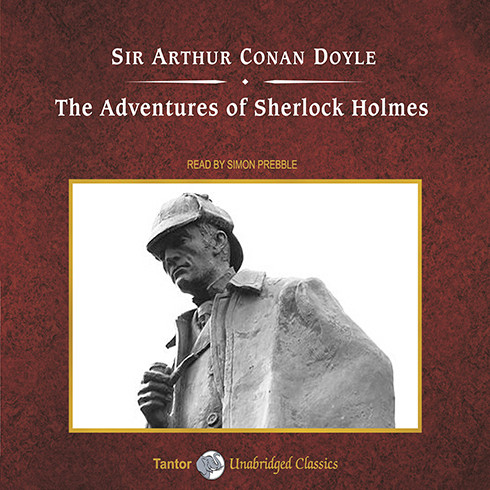 Printable The Adventures of Sherlock Holmes Audiobook Cover Art
