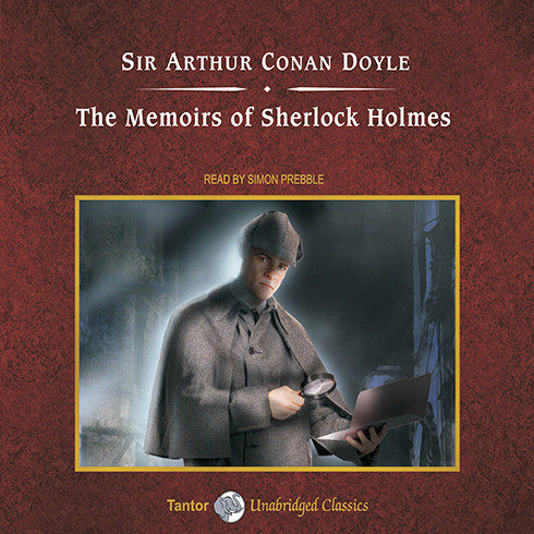 Printable The Memoirs of Sherlock Holmes Audiobook Cover Art