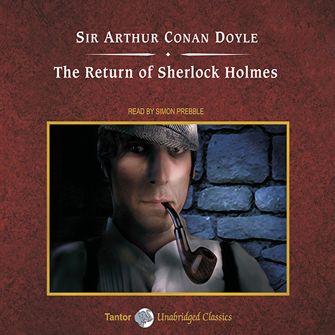 Printable The Return of Sherlock Holmes Audiobook Cover Art