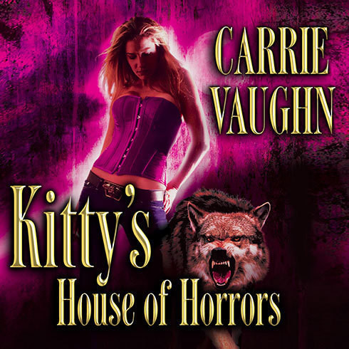 Printable Kitty's House of Horrors Audiobook Cover Art