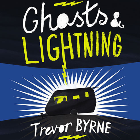 Printable Ghosts and Lightning Audiobook Cover Art