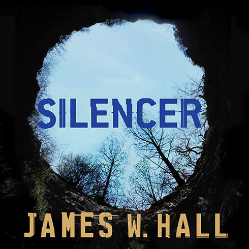 Printable Silencer: A Novel Audiobook Cover Art
