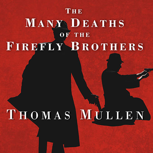 Printable The Many Deaths of the Firefly Brothers Audiobook Cover Art