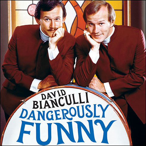 Printable Dangerously Funny: The Uncensored Story of 'The Smothers Brothers Comedy Hour' Audiobook Cover Art