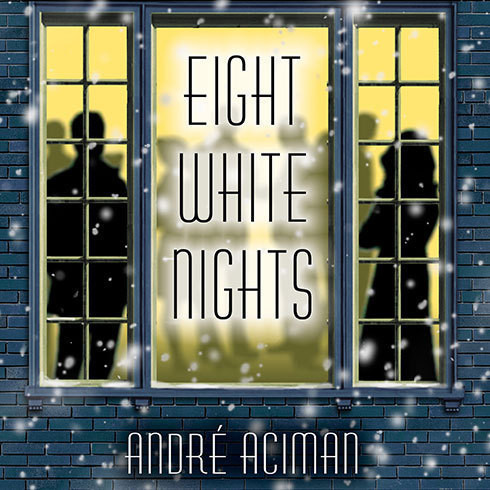 Printable Eight White Nights: A Novel Audiobook Cover Art