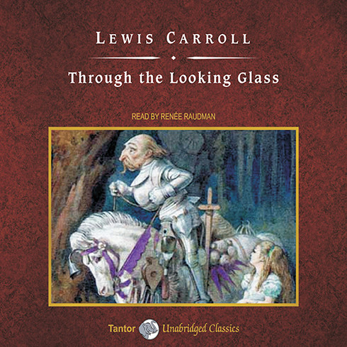 Printable Through the Looking Glass Audiobook Cover Art