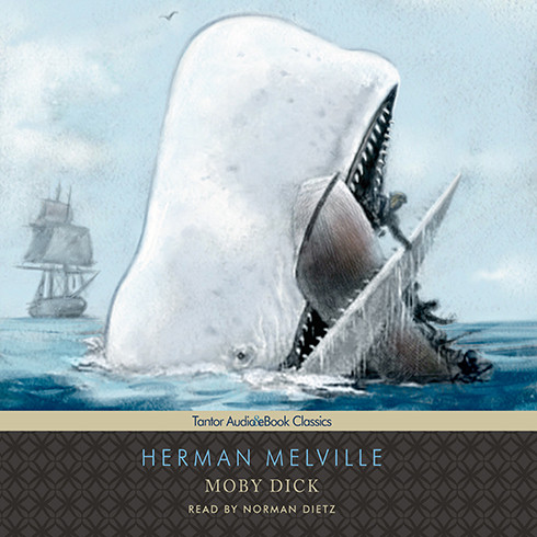 Printable Moby Dick Audiobook Cover Art