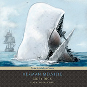 Moby Dick Audiobook, by Herman Melville