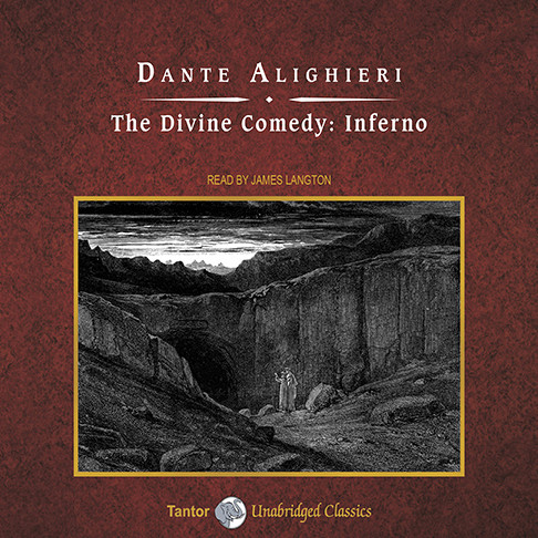 Printable The Divine Comedy: Inferno Audiobook Cover Art
