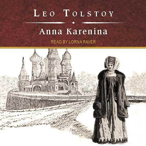Printable Anna Karenina Audiobook Cover Art