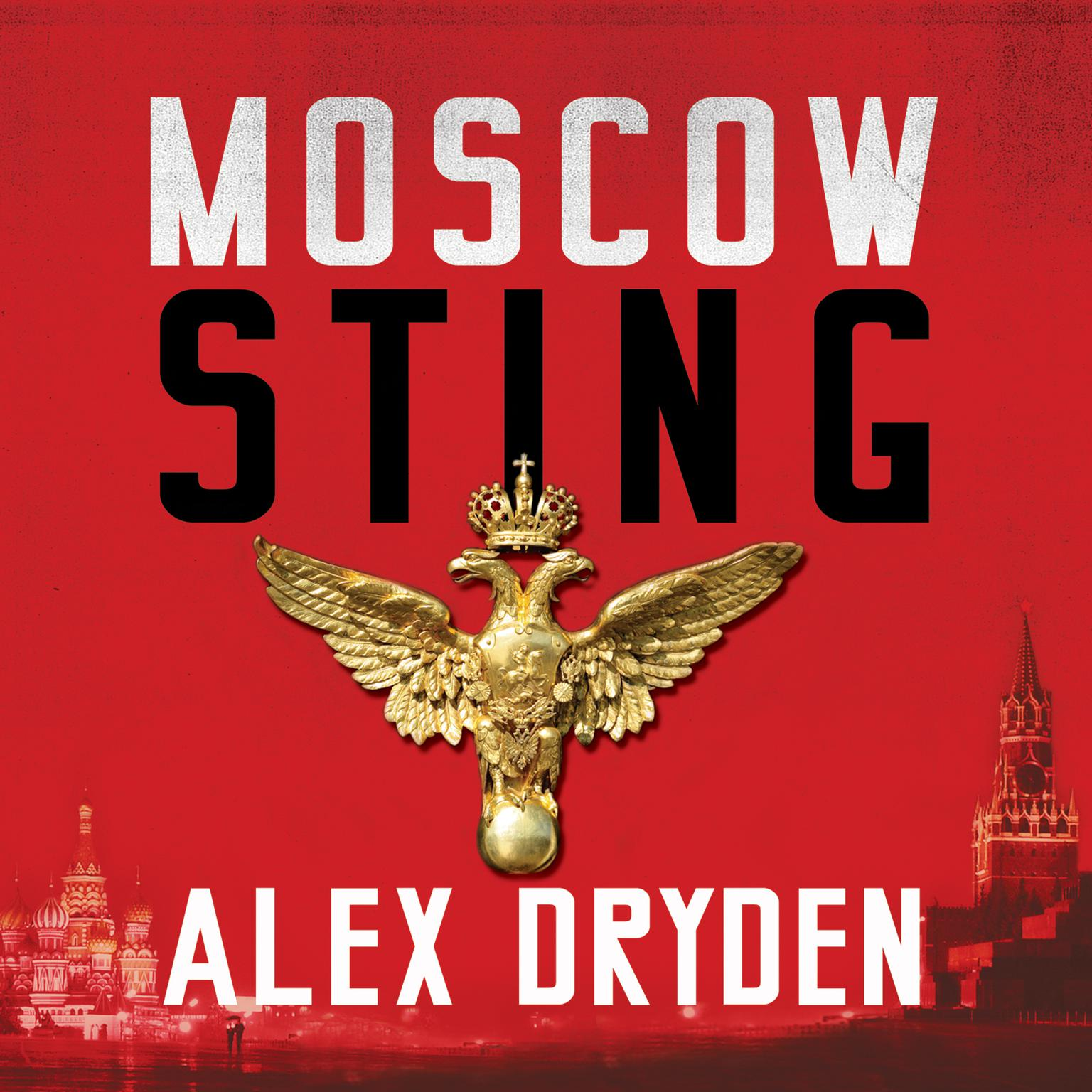 Printable Moscow Sting Audiobook Cover Art