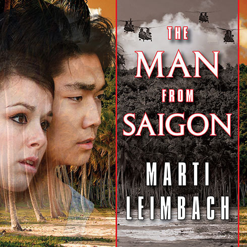 Printable The Man from Saigon: A Novel Audiobook Cover Art