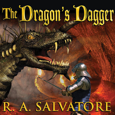 Printable The Dragon's Dagger Audiobook Cover Art