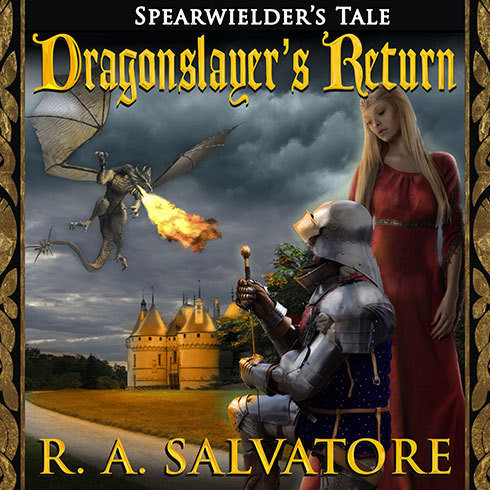 Printable Dragonslayer's Return Audiobook Cover Art