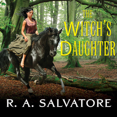 Printable The Witch's Daughter Audiobook Cover Art
