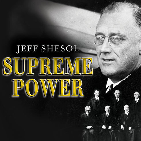 Printable Supreme Power: Franklin Roosevelt vs. the Supreme Court Audiobook Cover Art