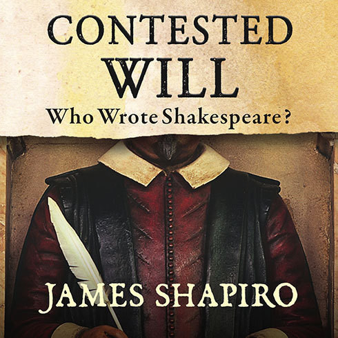 Printable Contested Will: Who Wrote Shakespeare? Audiobook Cover Art