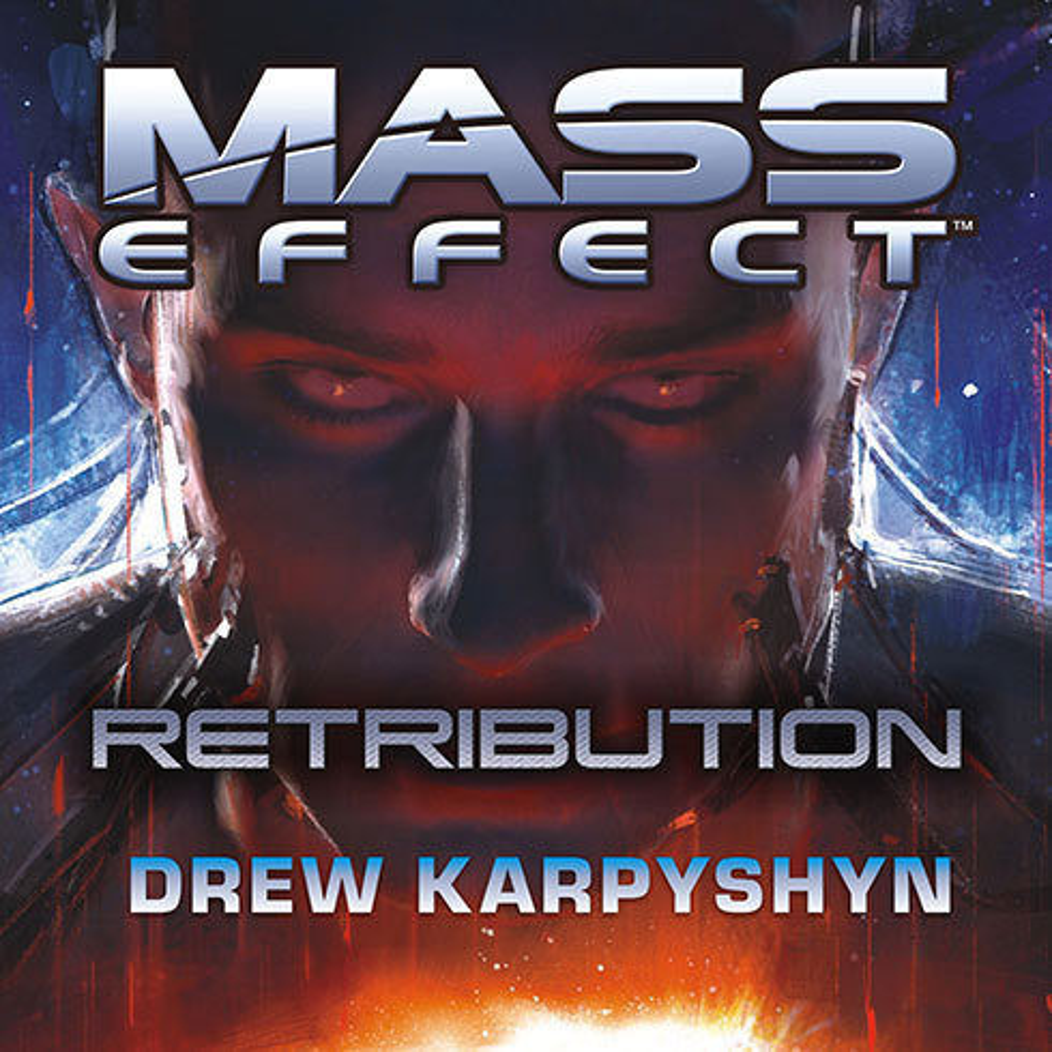 Printable Mass Effect: Retribution Audiobook Cover Art