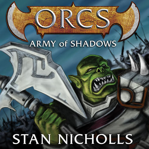 Printable Orcs: Army of Shadows Audiobook Cover Art