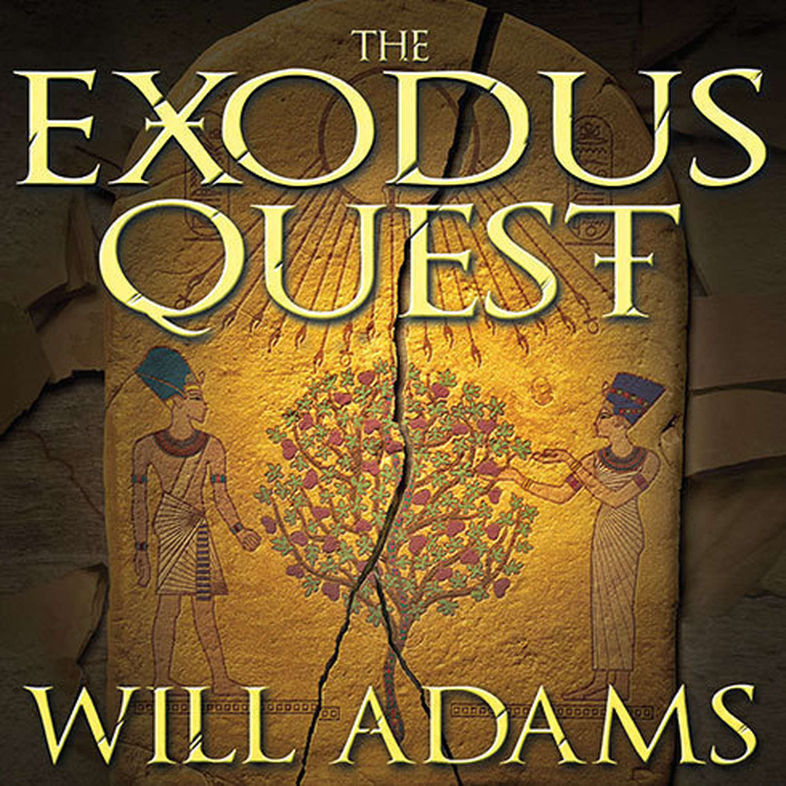 Printable The Exodus Quest Audiobook Cover Art