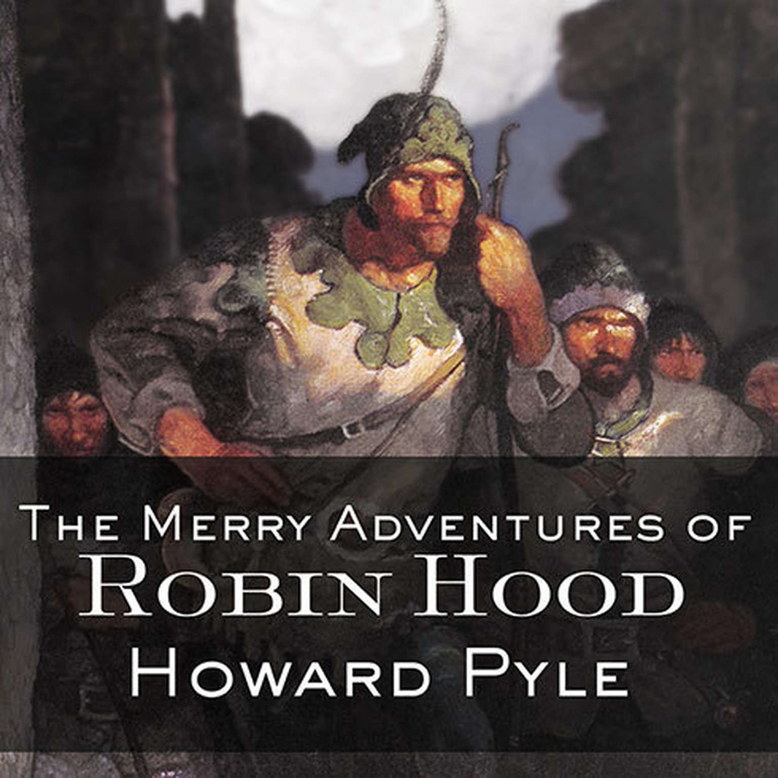 Printable The Merry Adventures of Robin Hood Audiobook Cover Art