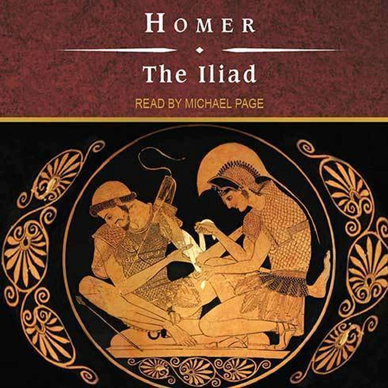 Printable The Iliad Audiobook Cover Art