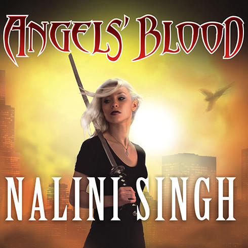 Printable Angels' Blood Audiobook Cover Art