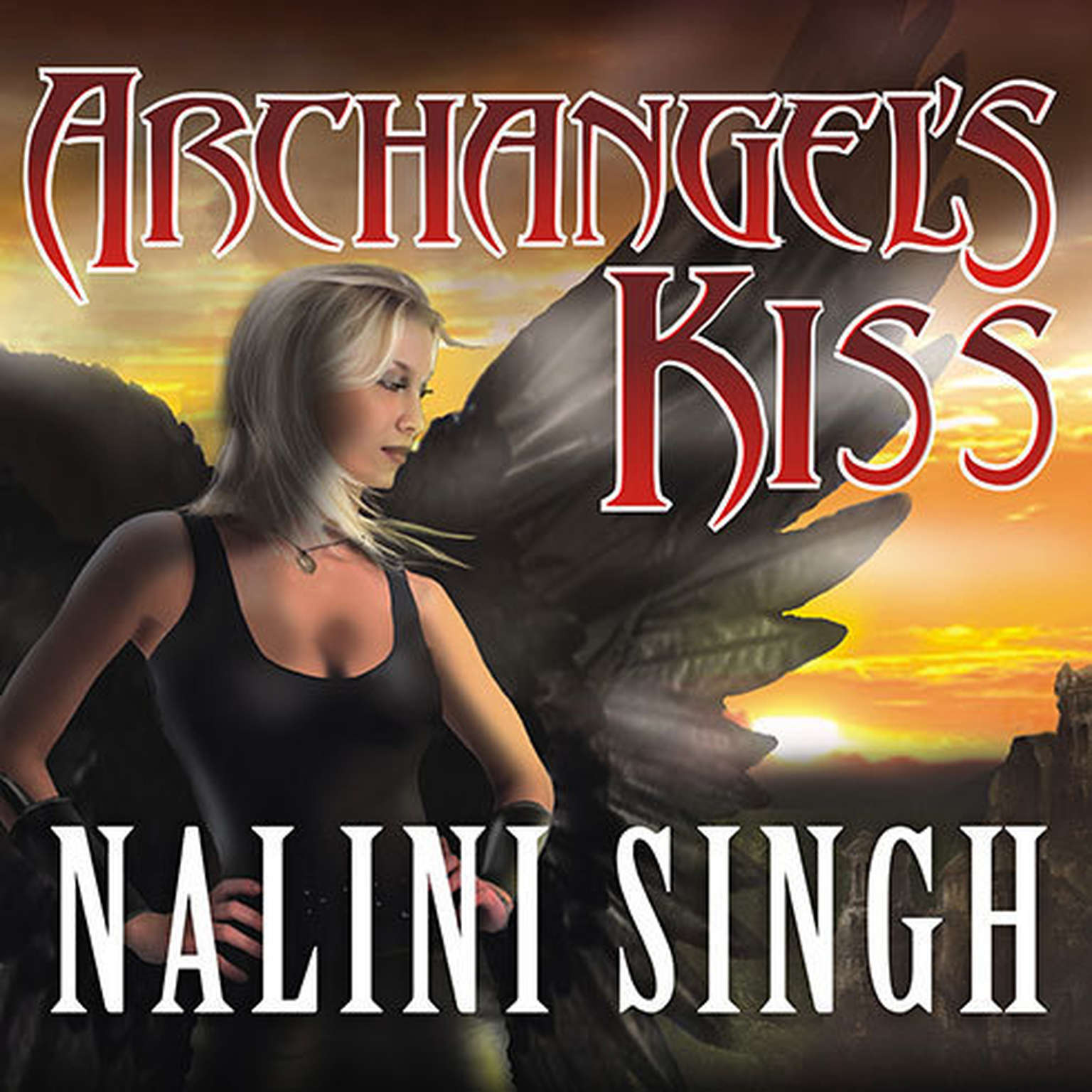 Printable Archangel's Kiss Audiobook Cover Art