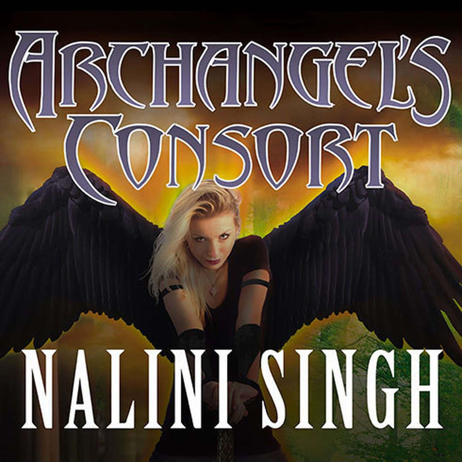 Printable Archangel's Consort Audiobook Cover Art