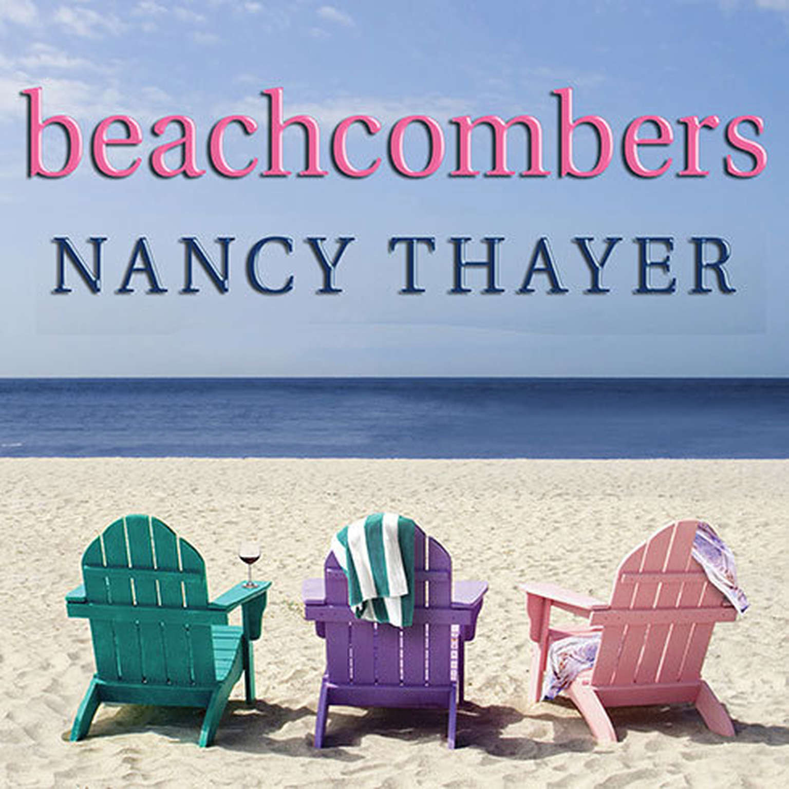Printable Beachcombers: A Novel Audiobook Cover Art