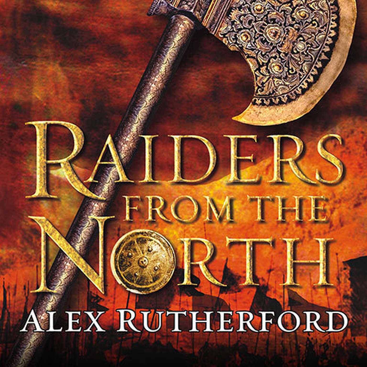 Printable Raiders from the North: Empire of the Moghul Audiobook Cover Art