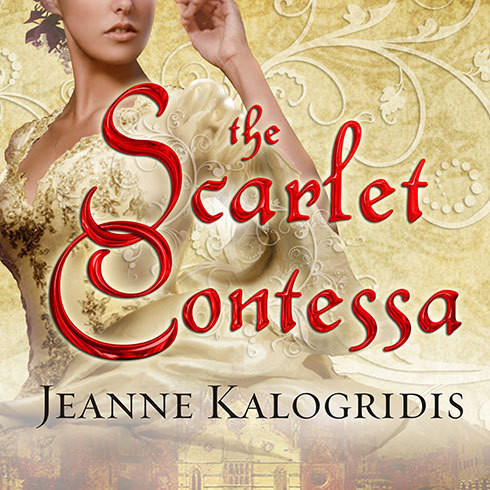 Printable The Scarlet Contessa: A Novel of the Italian Renaissance Audiobook Cover Art