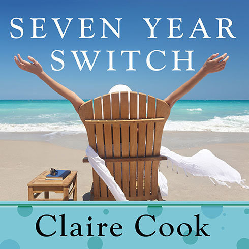 Printable Seven Year Switch: A Novel Audiobook Cover Art