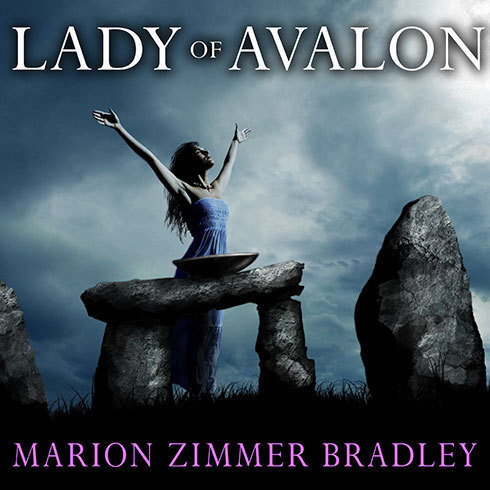 Printable Lady of Avalon Audiobook Cover Art