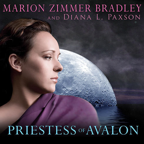 Printable Priestess of Avalon Audiobook Cover Art