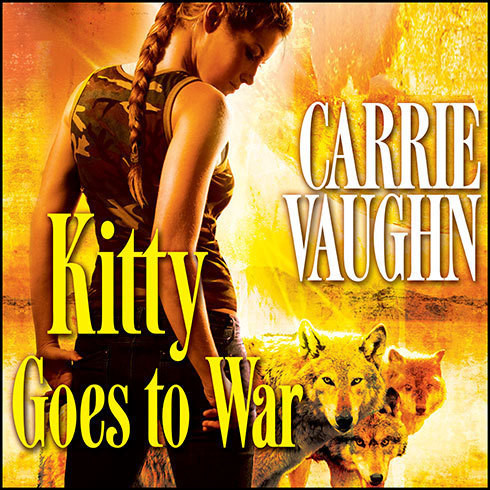 Printable Kitty Goes to War Audiobook Cover Art