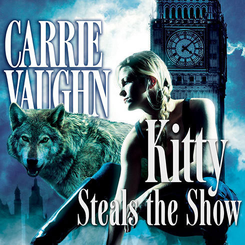 Printable Kitty Steals the Show Audiobook Cover Art