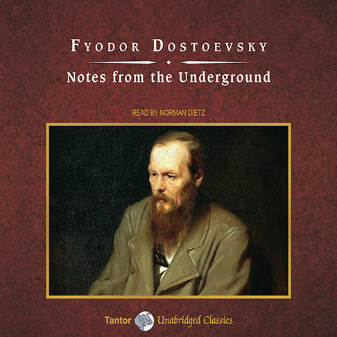 Printable Notes from the Underground Audiobook Cover Art