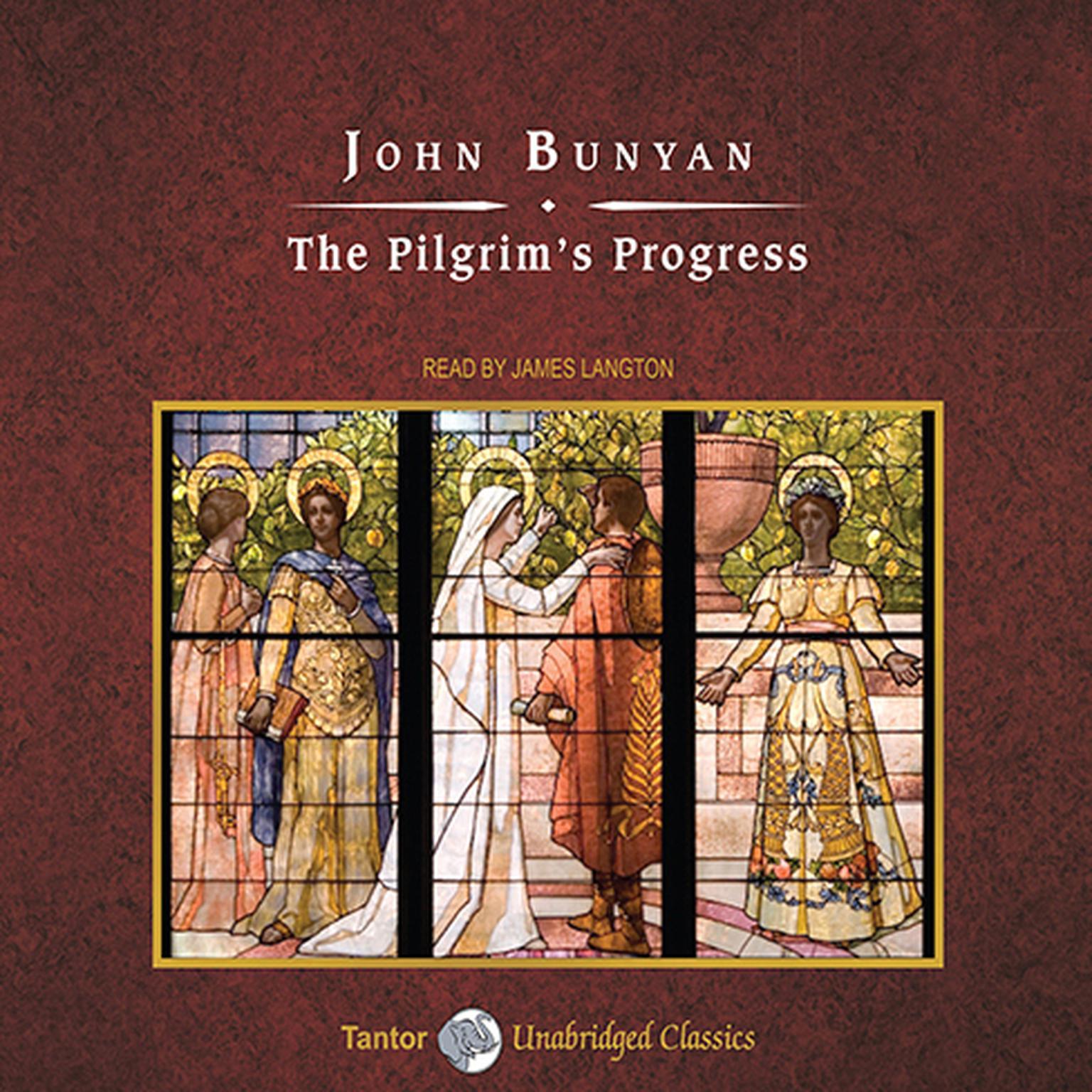 Printable The Pilgrim's Progress Audiobook Cover Art