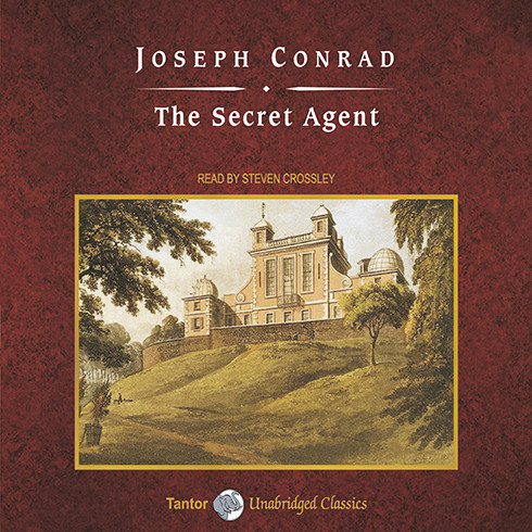 Printable The Secret Agent Audiobook Cover Art