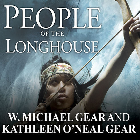 Printable People of the Longhouse Audiobook Cover Art