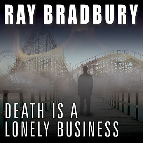 Printable Death Is a Lonely Business Audiobook Cover Art